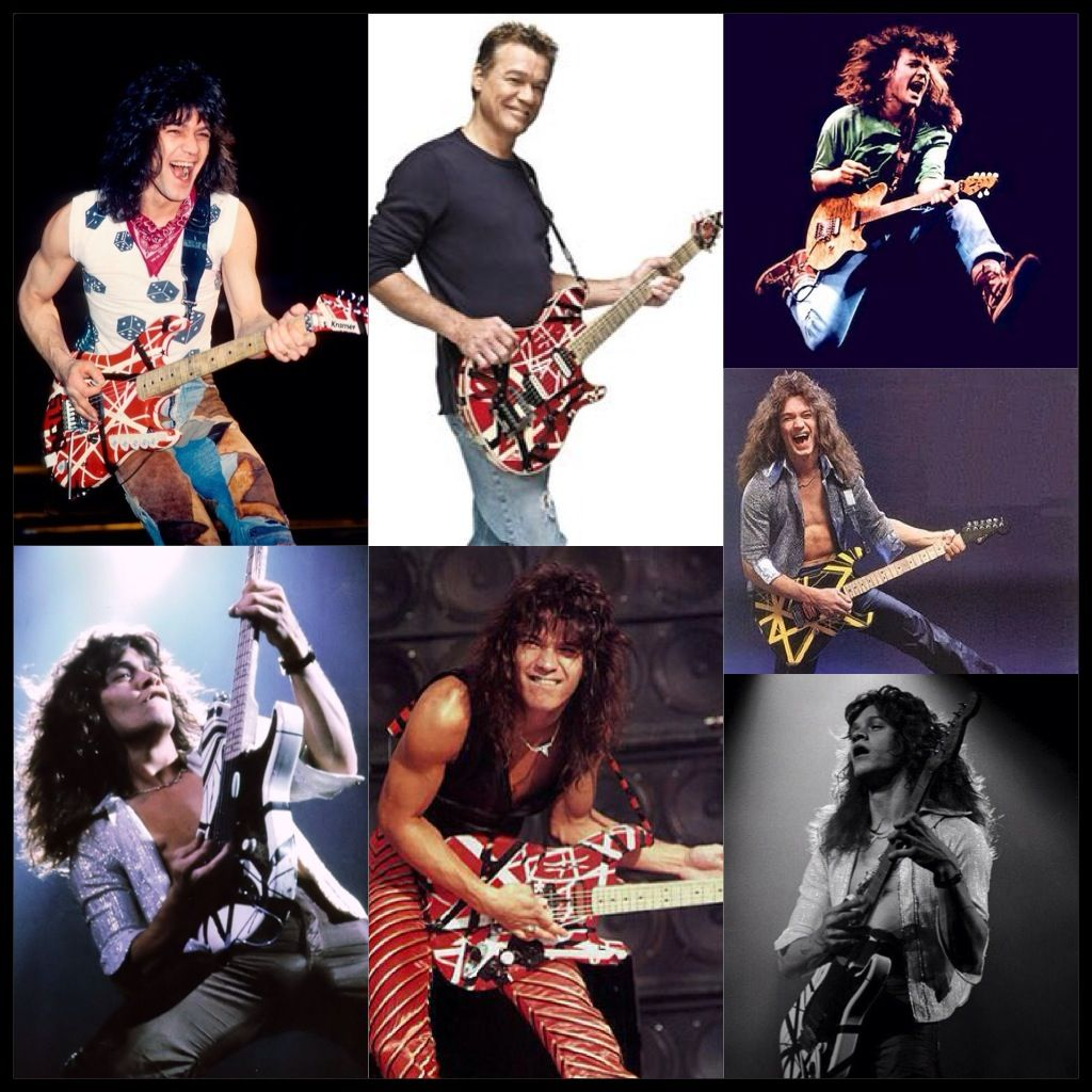 Happy Birthday To My Childhood Hero Greatest Rock N Roll Guitarist Of All Time The King Eddie Van Halen Eddie Van Halen Van Halen