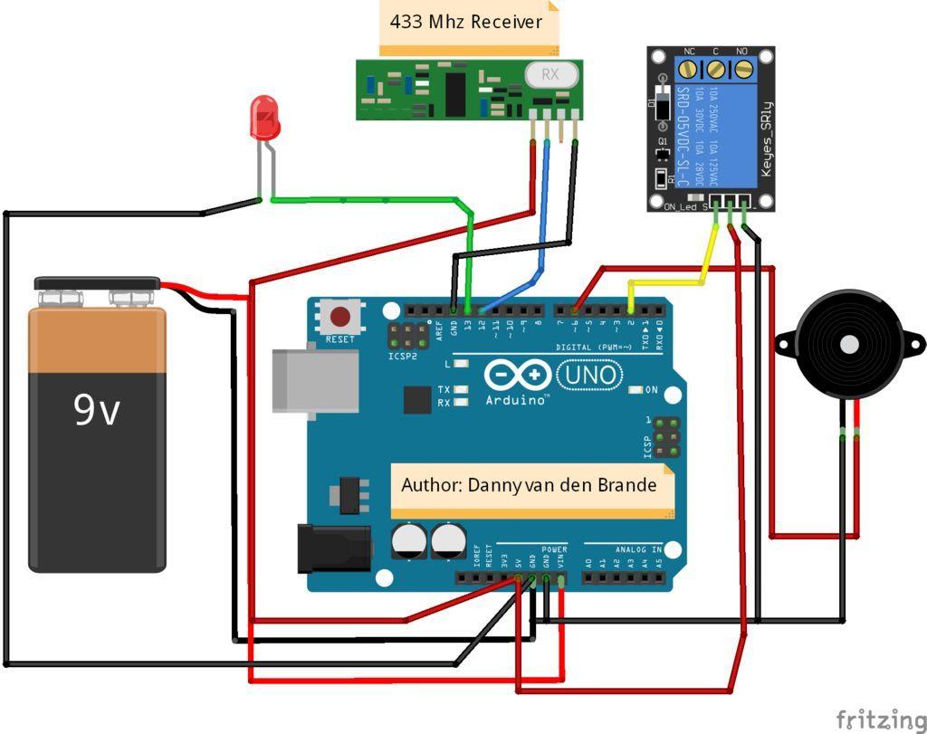 Arduino - 433mhz Wireless Transmitter & Receiver SWITCH
