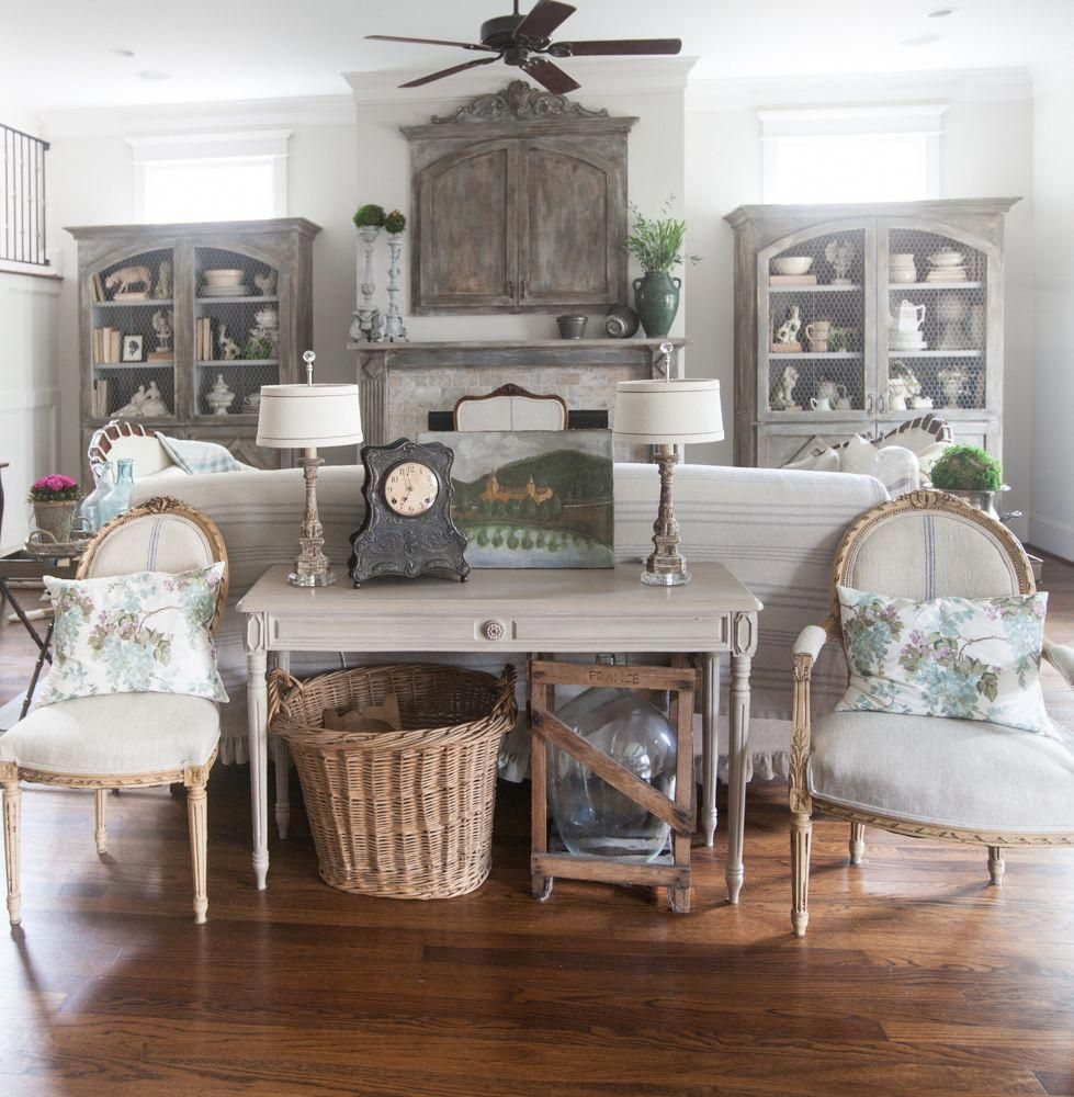 Country French living room 4 key elements of design # ...