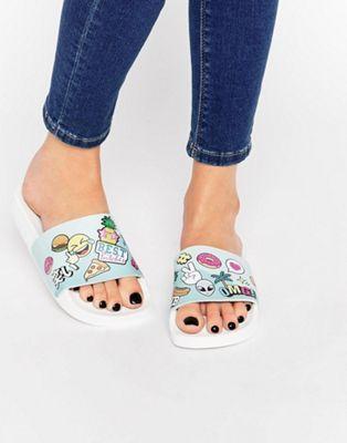 Zapatos negros de verano thewhitebrand para mujer TeD3Q9