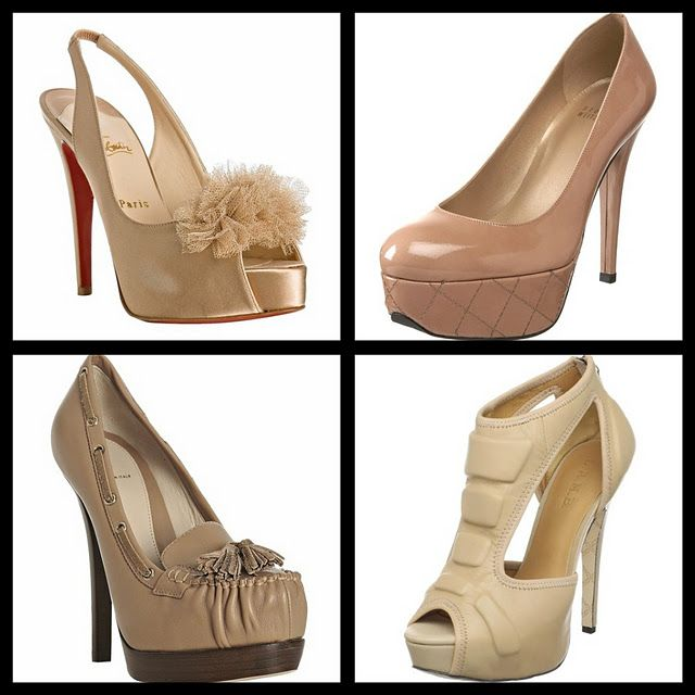 Nude heels - will go with nearly every outfit!
