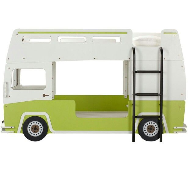 Totally Kids Totally Bedrooms: Comby Van Bunk Bed.. Could Totally Paint This And Make It