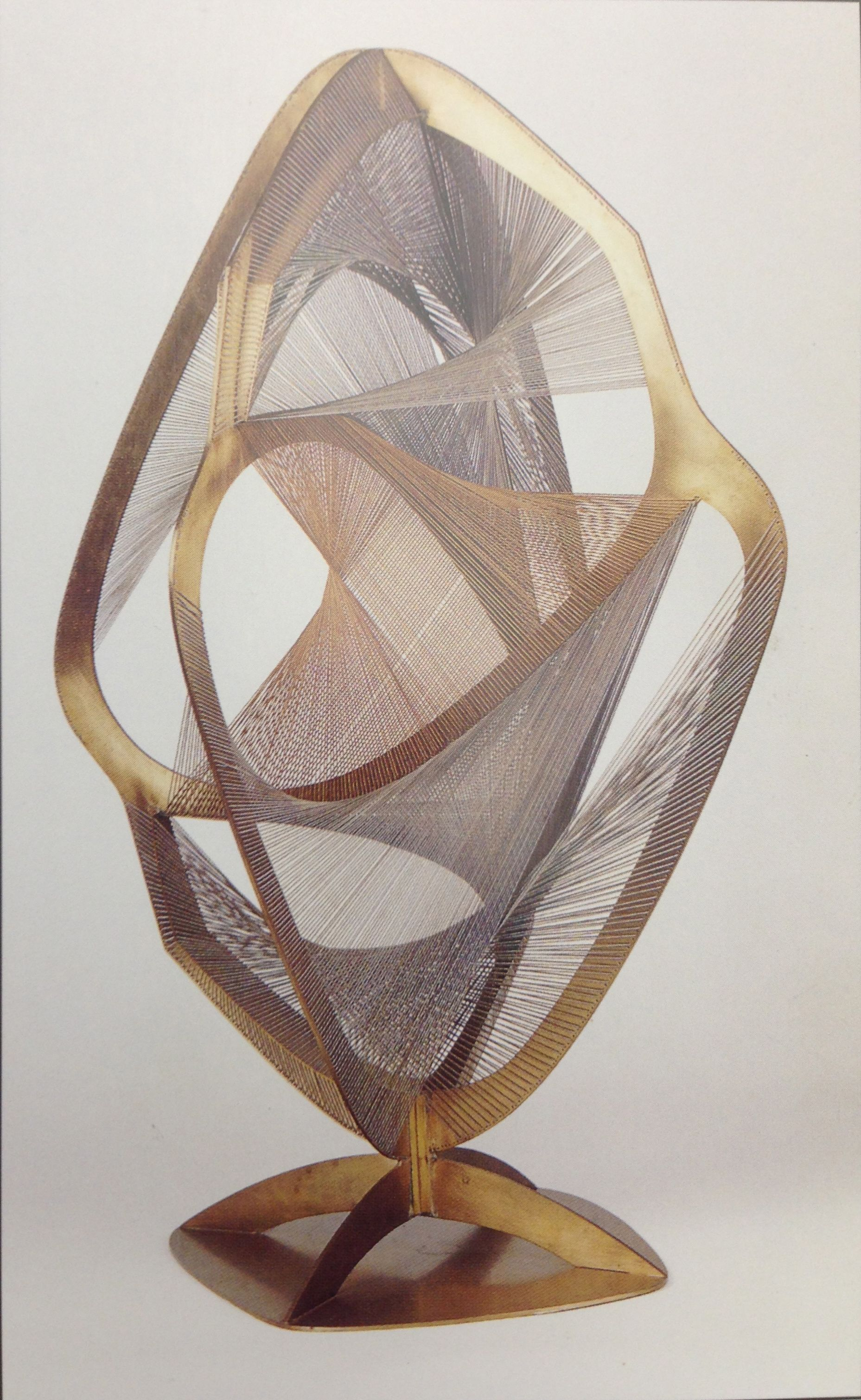 Naum Gabo, Linear Construction in Space No. 4 - Fluid ...