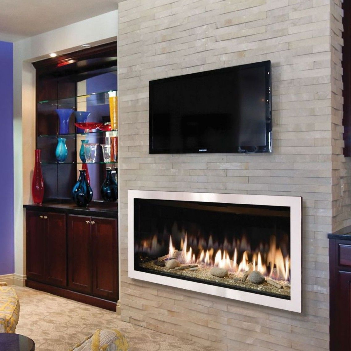 brick wall background modern brick fireplace mantel with tv wall rh pinterest com