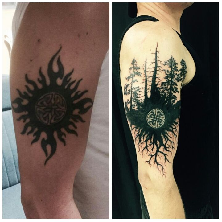 d0d11381e Cover up tribal sun done by yusef musle @ a new dimension in Lake worth fl