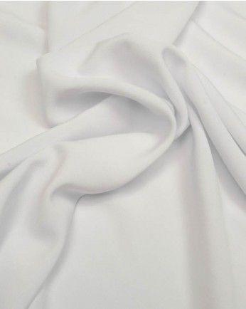 Fabulous Designer IVORY Crepe back CHARMEUSE Medium Sheen SATIN Fabric-BRIDAL
