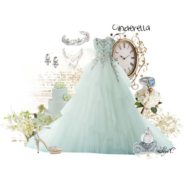 Disney Cinderella Wedding | Cinderella wedding, Weddings and Polyvore