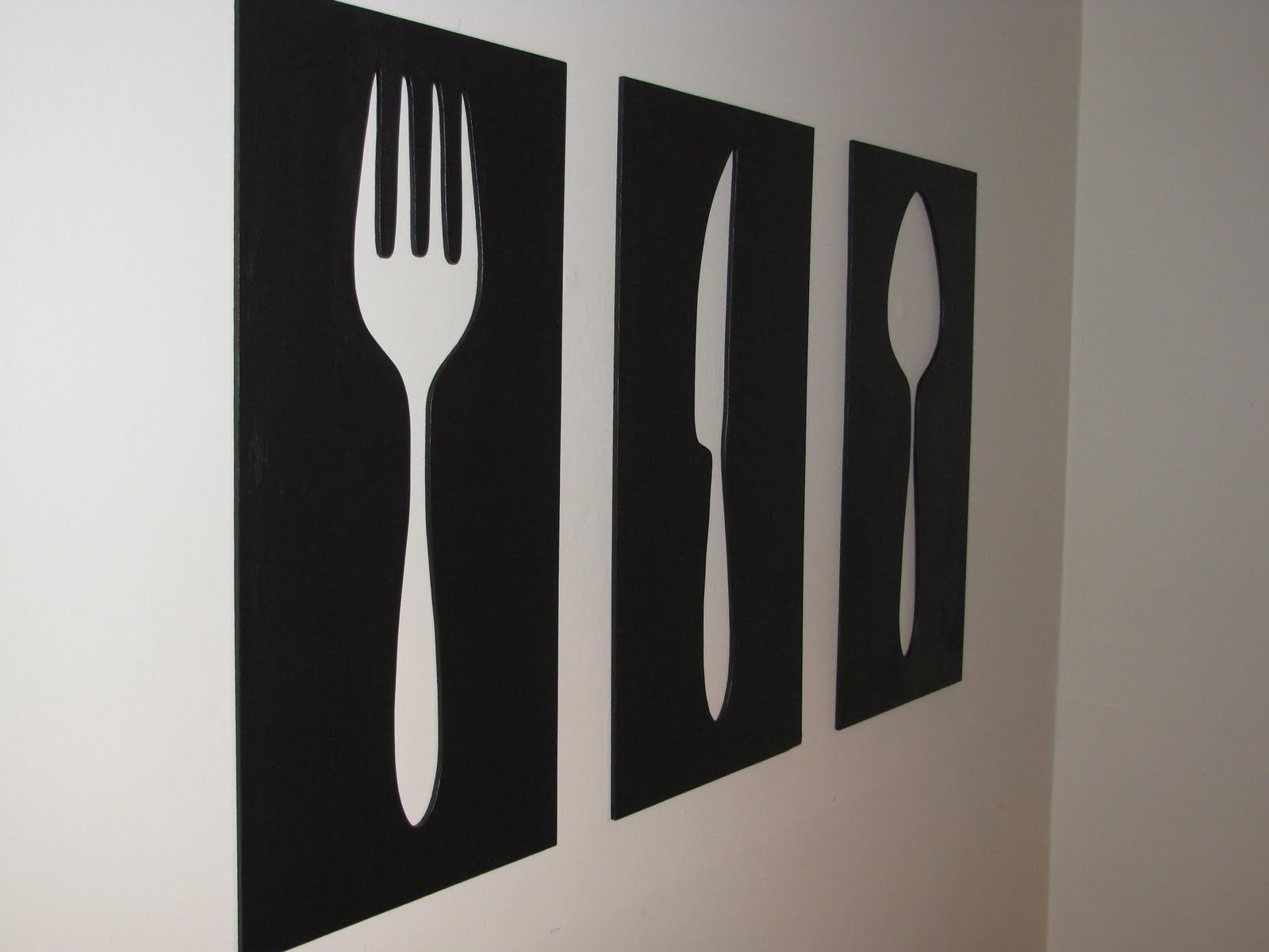 Knife Fork Spoon Wall Art | The Best Home Decor | BREWED | Pinterest