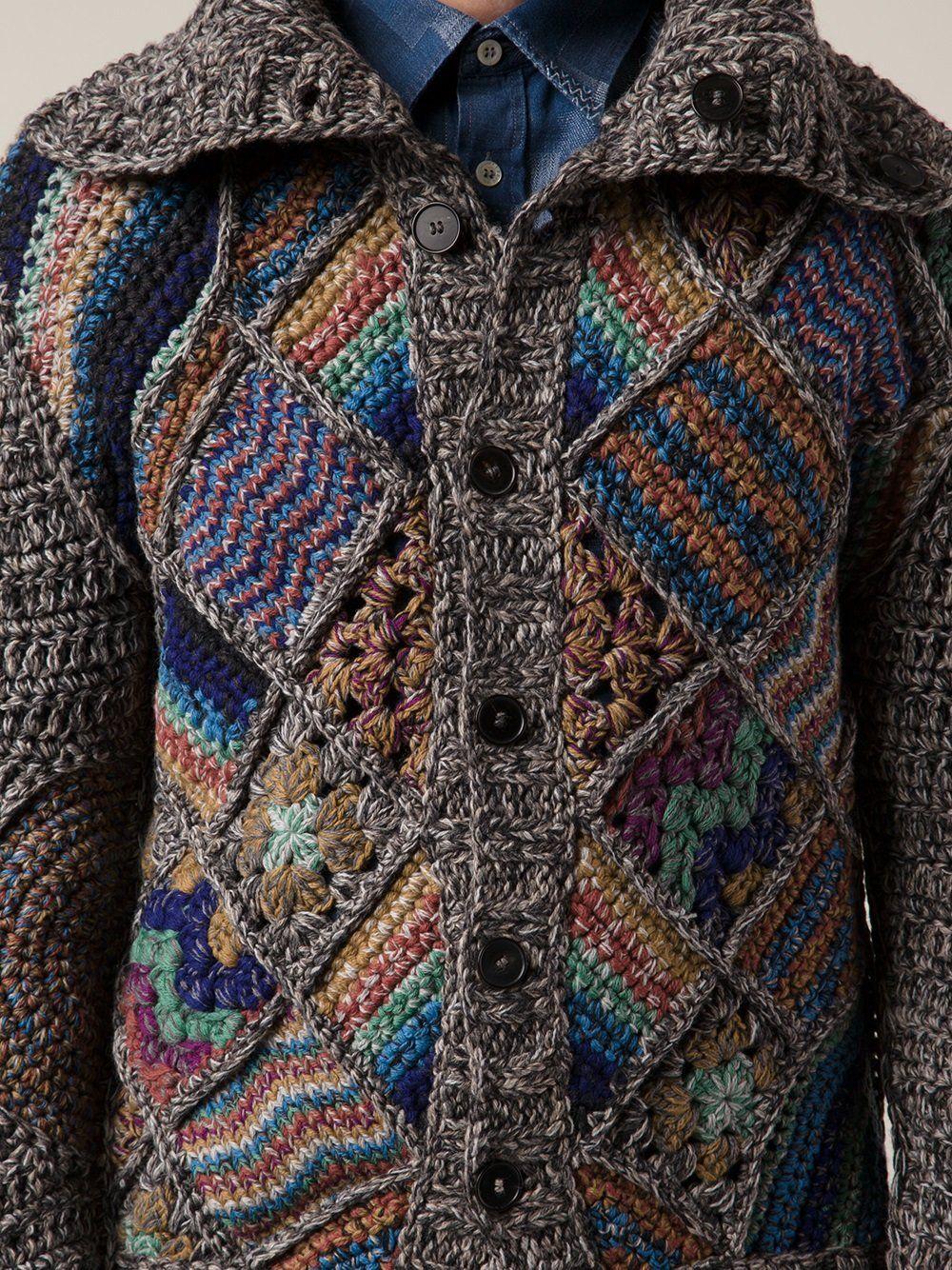 Handmade Patchwork Cardigan