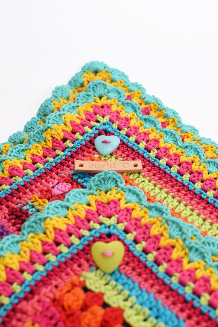 Crochet blanket CAL2015 By Ingrid de Vries | All Crochet Afghan ...