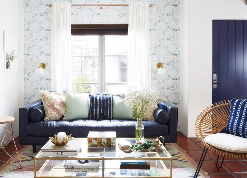 Learn small space tips and apartment decorating