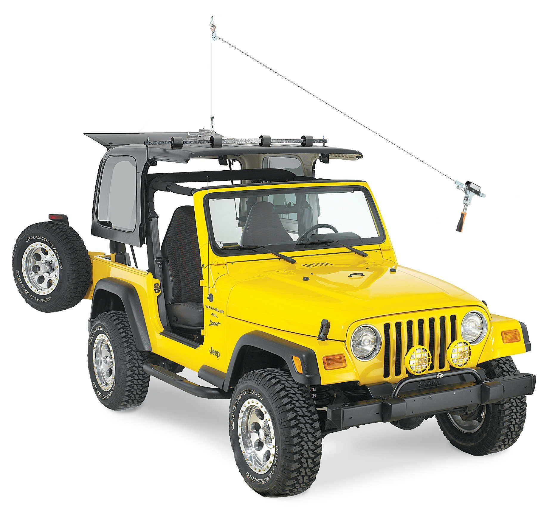 Lange Originals Manual Hoist A Top For 76 06 Jeep Cj 7