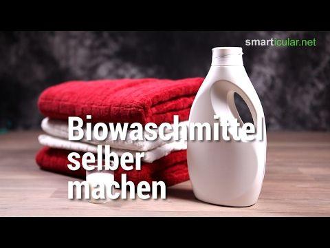 Biowaschmittel selbst herzustellen ist leicht