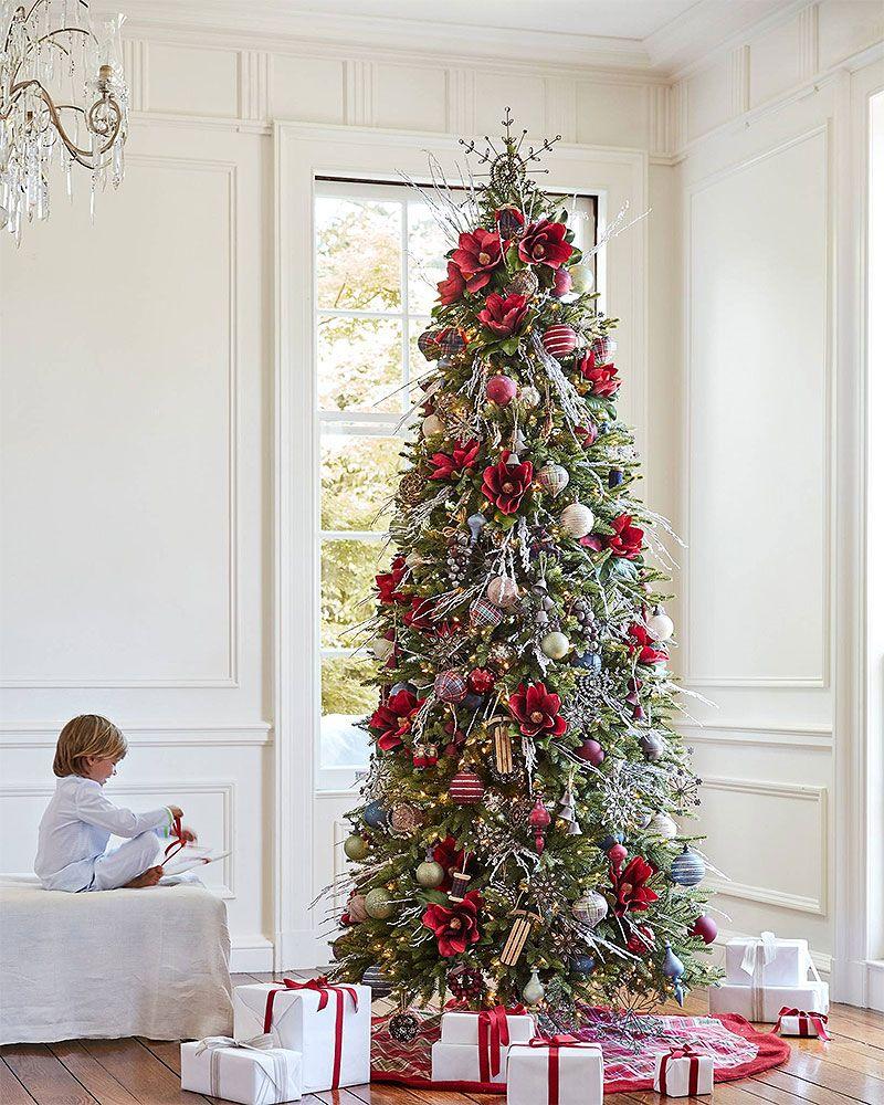 50 beautiful christmas trees christmas decorations slim rh pinterest com