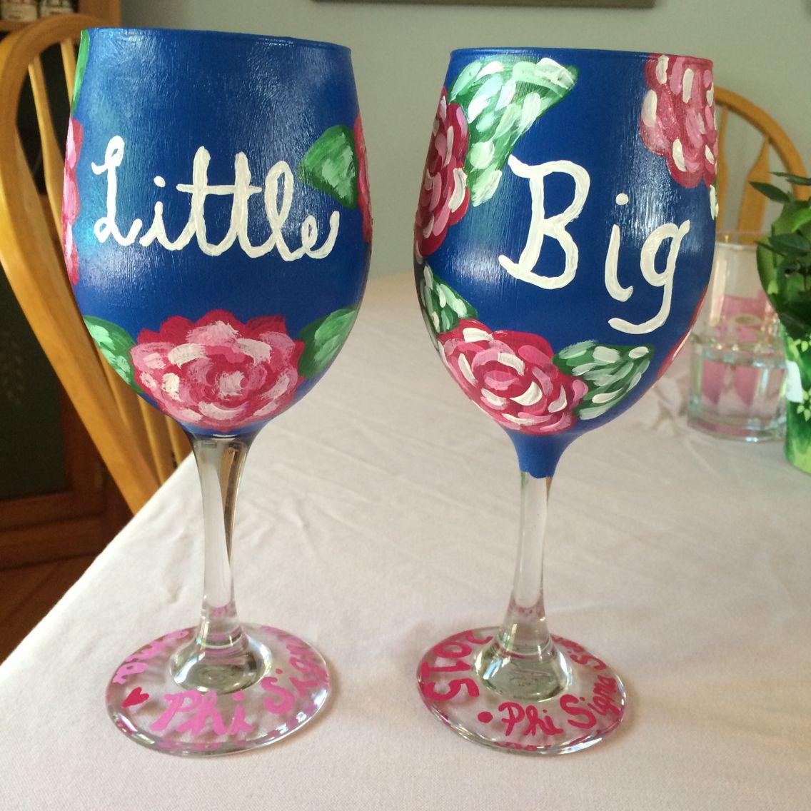 Big Little Wine Glasses!