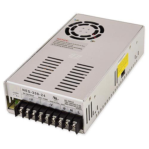 LEDwholesalers 24 Volt Single Output UL Constant voltage Switching Power Supply, 350 Watt, 3260-24V