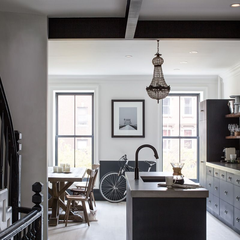 kitchen apartment ideas brooklyn townhouse decor inspiration rh pinterest se