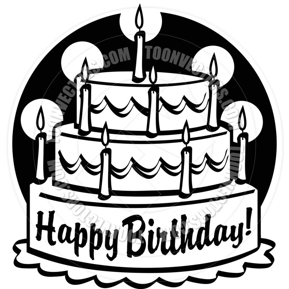toonvectors-44541-940.jpg (940×940) | brosur | Pinterest for Black And White Birthday Candle Clip Art  589hul