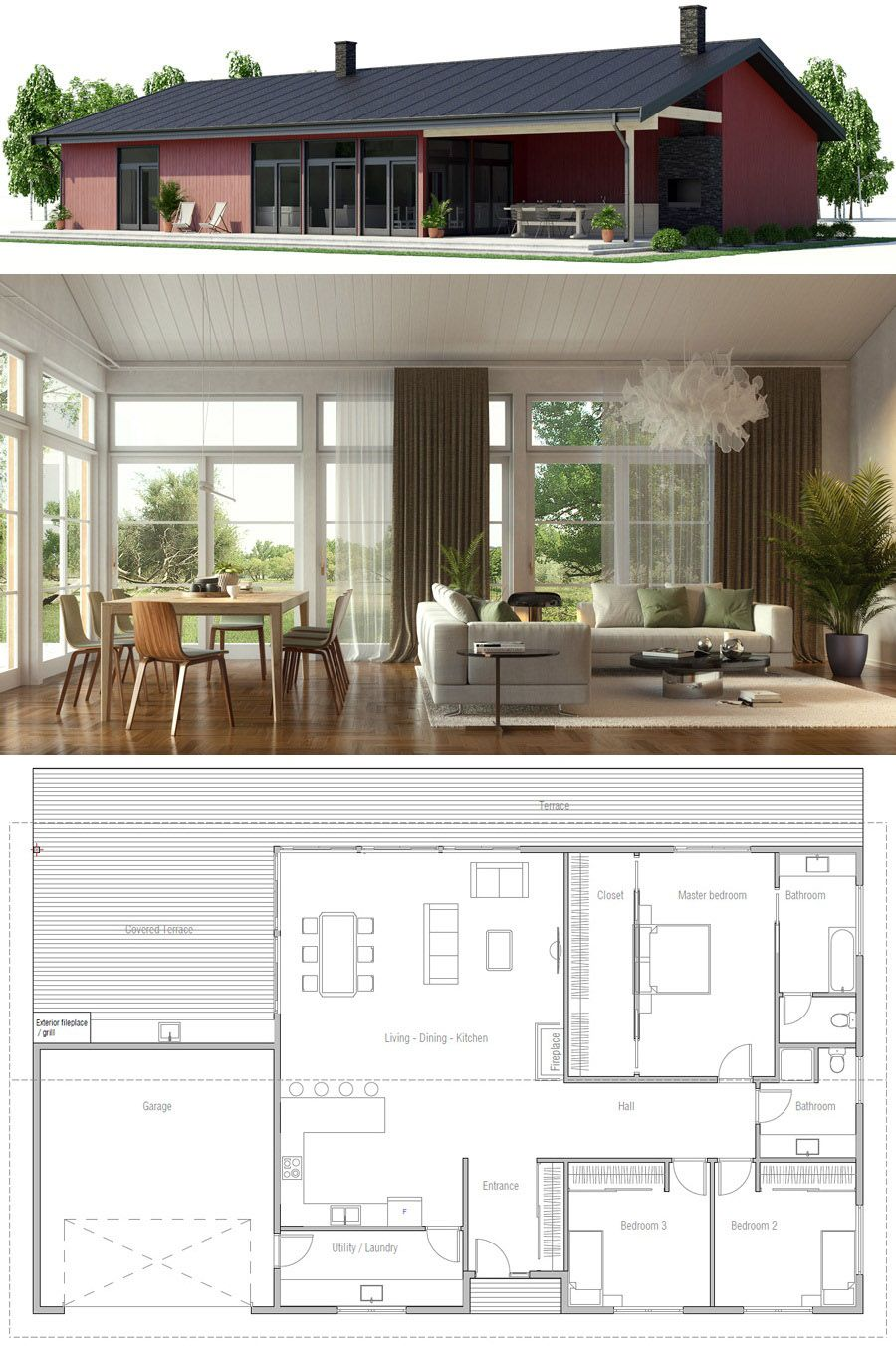 570ae94d3e8bb50d9f1b0b9eb39b910c - View Small House Design Archdaily Pictures