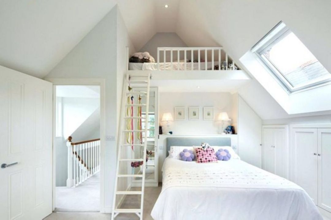 The Best 12 Small Special Bedroom Design Ideas For Small Houses Https Decoretoo Com 12 Small Special Bedr Small Loft Bedroom Attic Bedroom Small Bedroom Loft