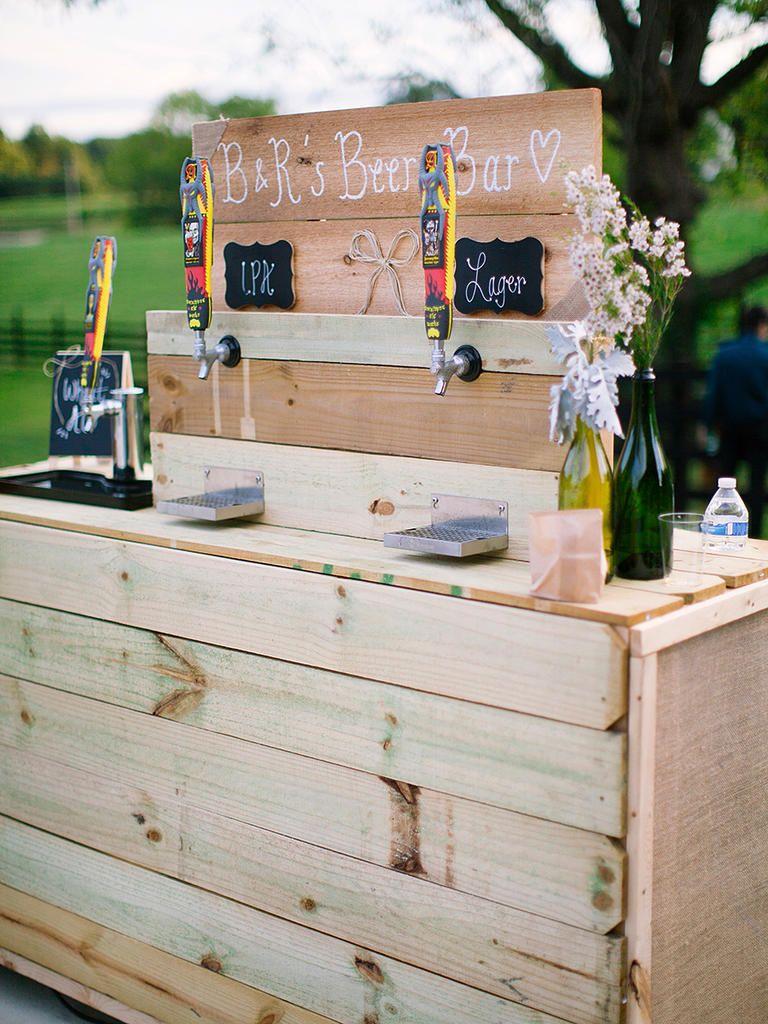 16 Creative Drink Stations For A Fun Wedding Reception Wedding