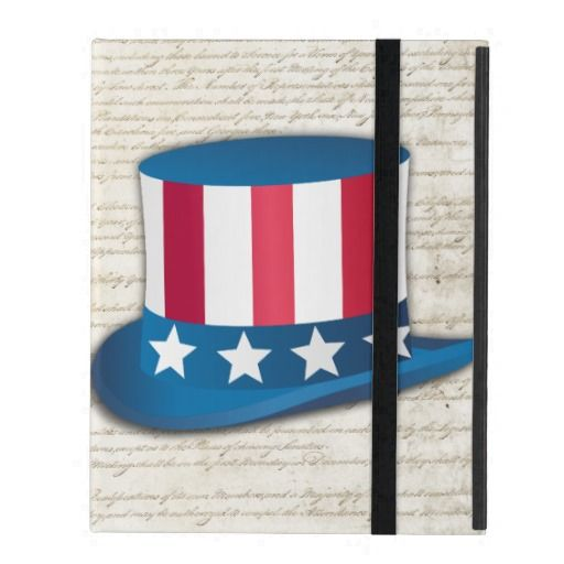 Patriotic Hat iPad Covers