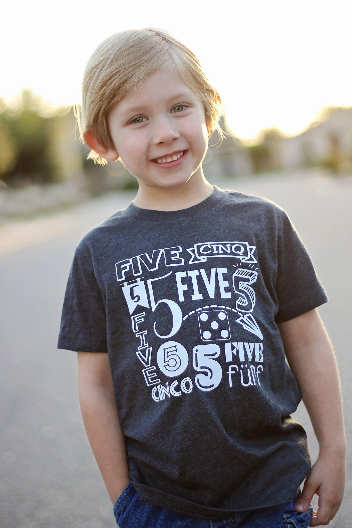 5th birthdaymy year boys childrens t shirt 5th