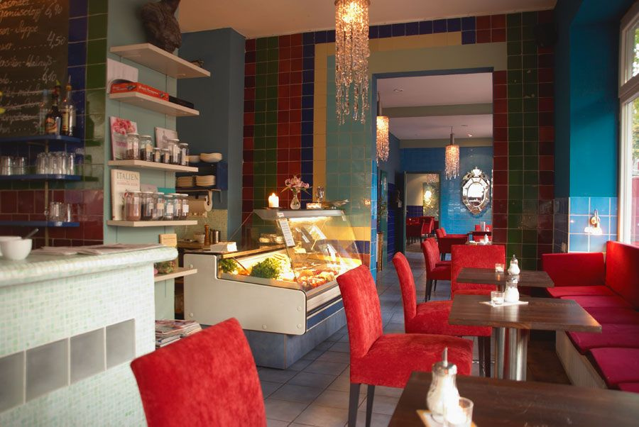 Man müsste mal wieder ins Café Sha zu Kaffee \ Kuchen in Hamburg - hamburger küche restaurant