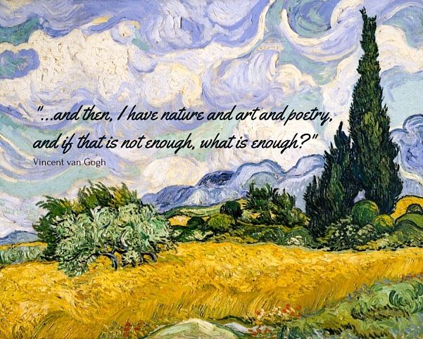 Pin By Rebecca West On Mi Favorito Vincent Van Gogh Quotes Van Gogh Quotes Vincent Van Gogh Paintings