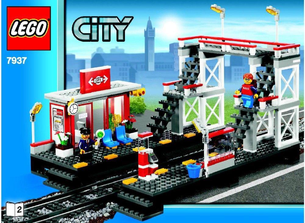City Train Station Lego 7937 Tren