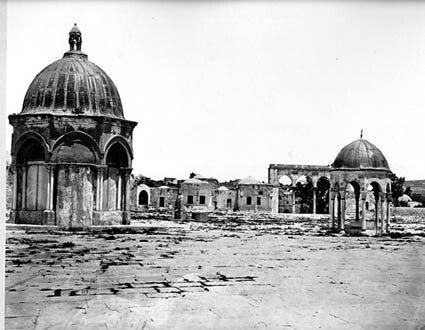 80 years old picture of Al Aqsa Masjid