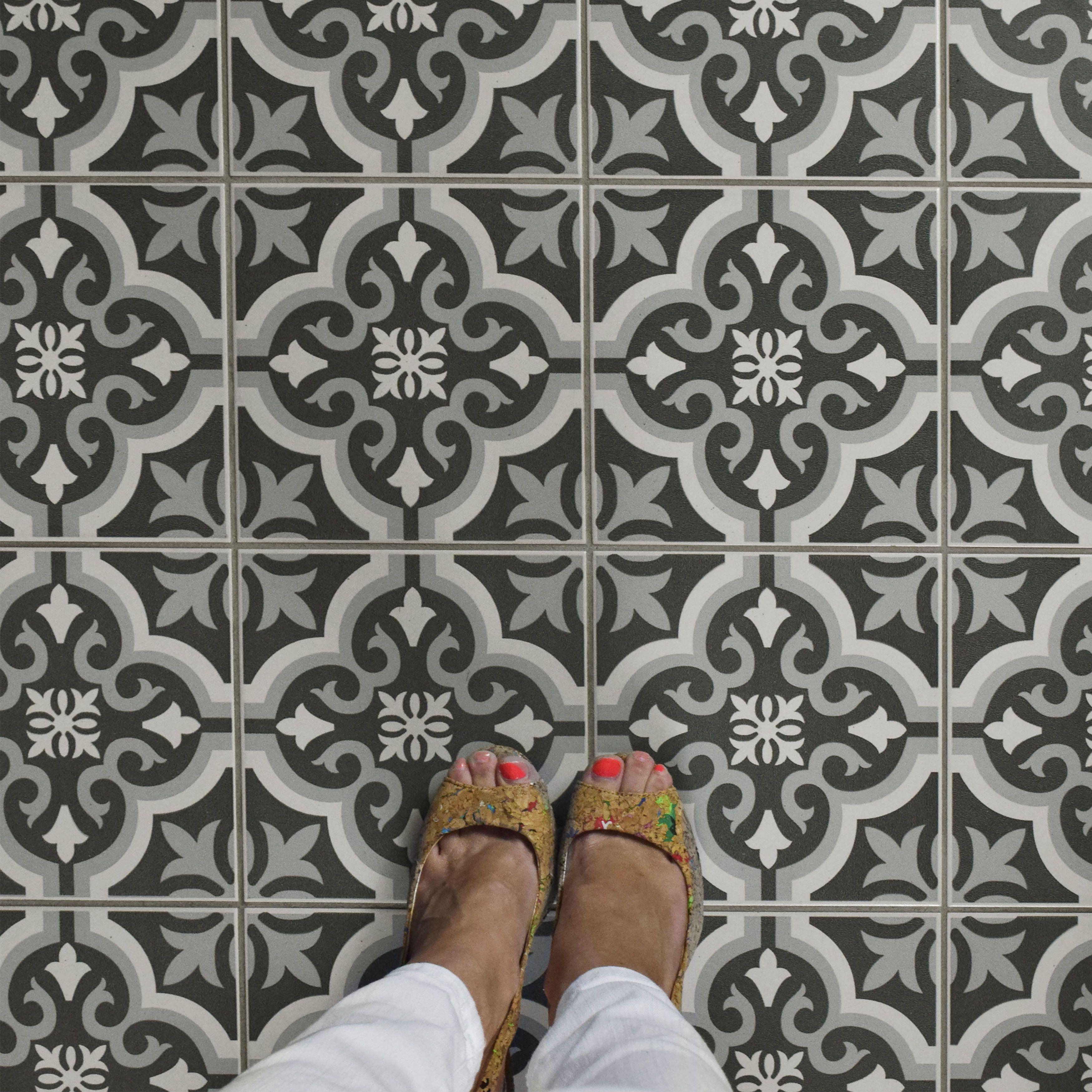 Elitetile lima 775 x 775 ceramic field tile in black home elitetile lima 775 x 775 ceramic field tile dailygadgetfo Choice Image