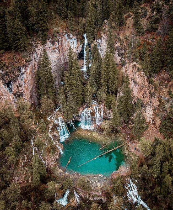 Hanging Lake At Bergeboy Instagram Outthere Colorado Colorado