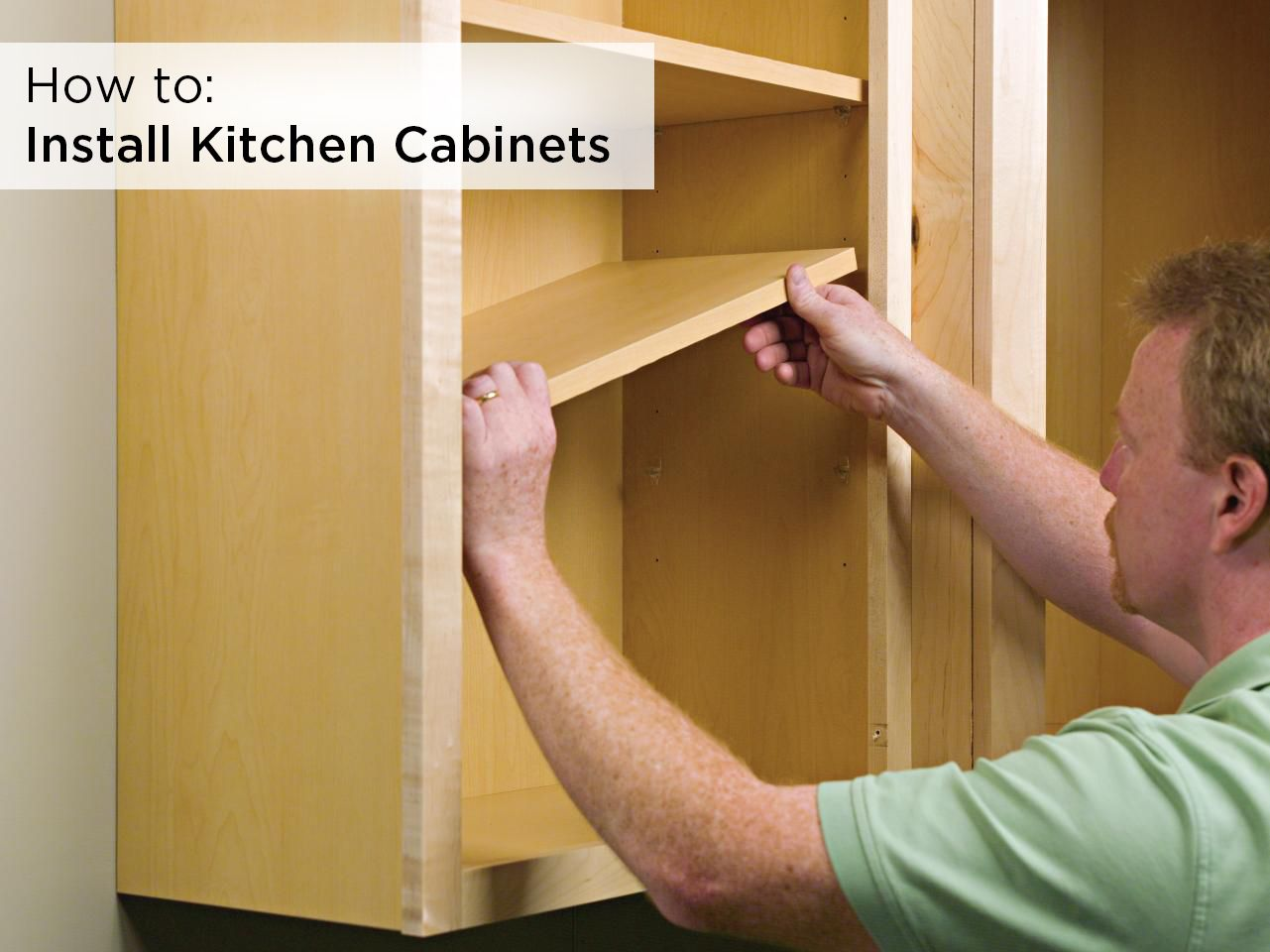 Whether You Re Doing It Yourself Or Want To Learn What To Expect From A Contractor These 1 Installing Cabinets Framed Kitchen Cabinets Remodeling Mobile Homes