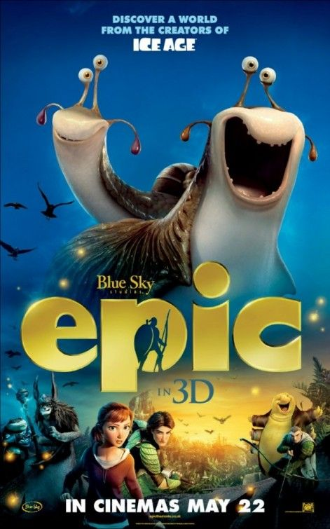 Epic Movie Poster 8 Movie Character Posters Animated Movie Posters Movie Posters