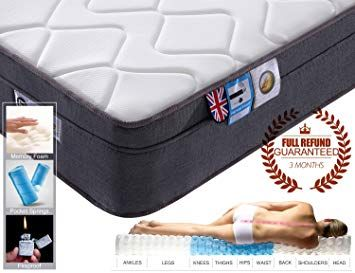 Pocket Sprung Mattress With Memory Foam Orthopaedic Mattress
