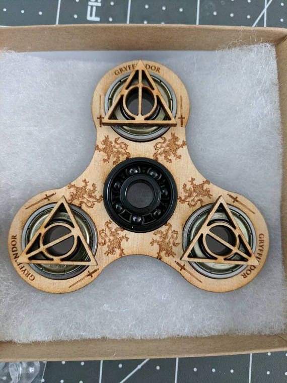 Gryffindor Harry Potter Themed Spinner