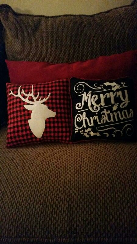 Xmas pillows from Target