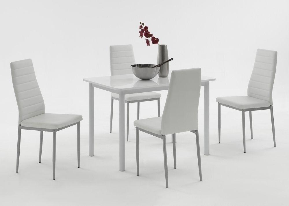 Essgruppe Esstisch Anke mit 4 Stühlen Simone 3664 Buy now at http - küchentisch mit stühlen