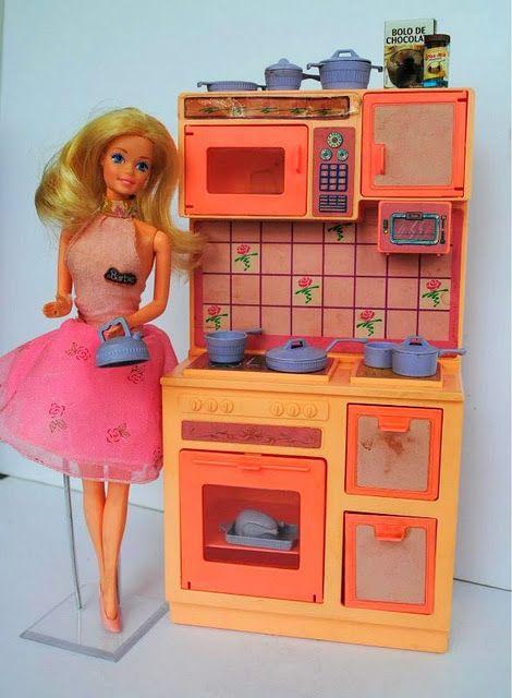 O Dia A Dia Barbie Dona De Casa Anos 80 90 Cozinha