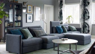 Inspiration för vardagsrumsmöbler | Ikea vardagsrum