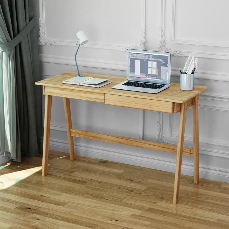 Adsett Writing Desk In 2020 Ikea Writing Desk Ikea Wood Desk Writing Desk