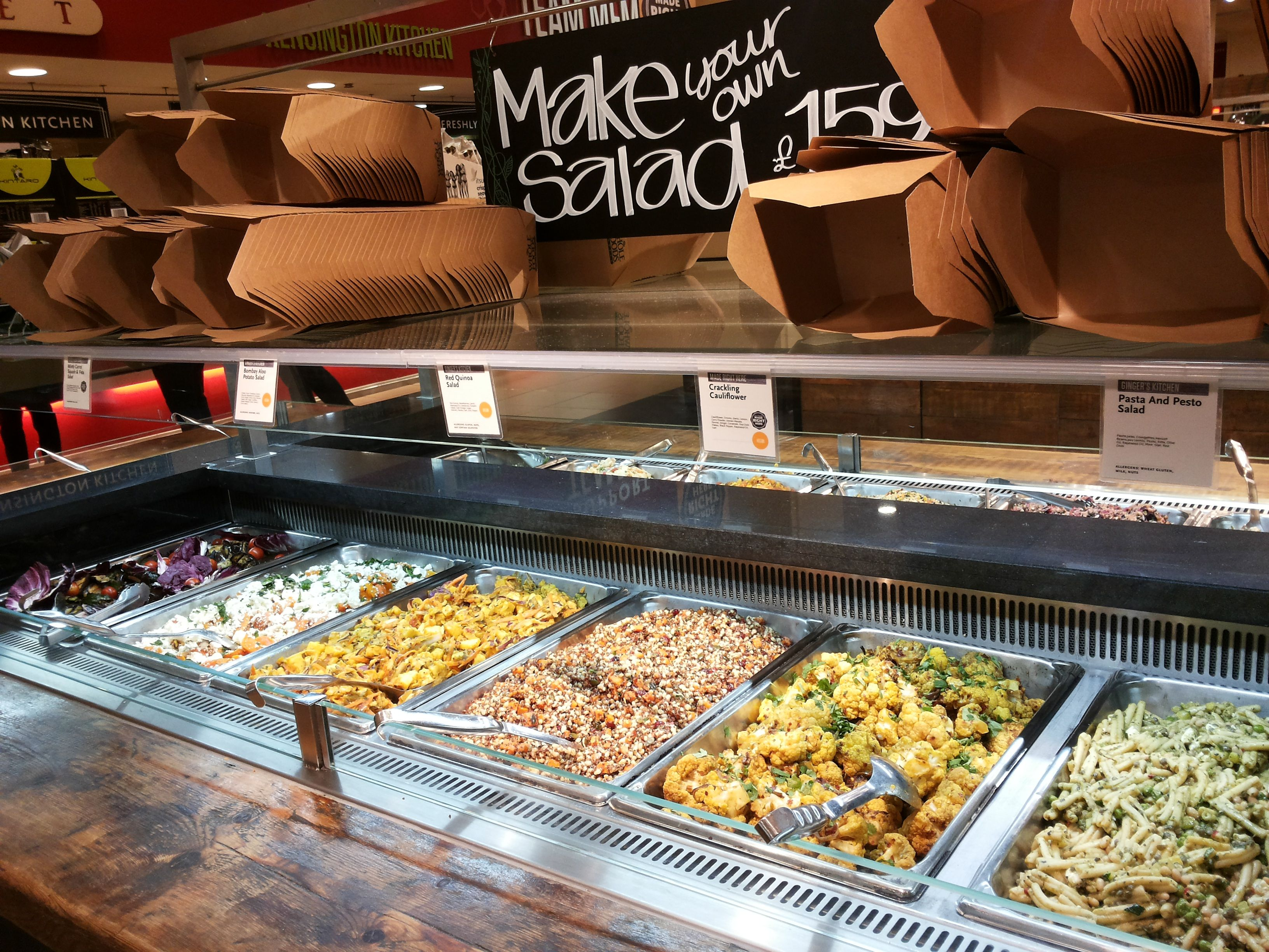 Whole foods salad bar google search marketplace for Organic food bar