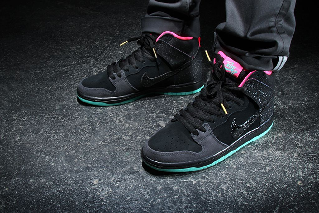 Premier x Nike SB Dunk High Premium Northern Lights Another Look | Sole  Collector