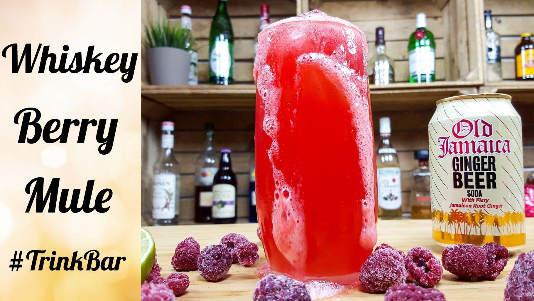 Whiskey Berry Mule - Cocktail - Rezept - Trinkbar