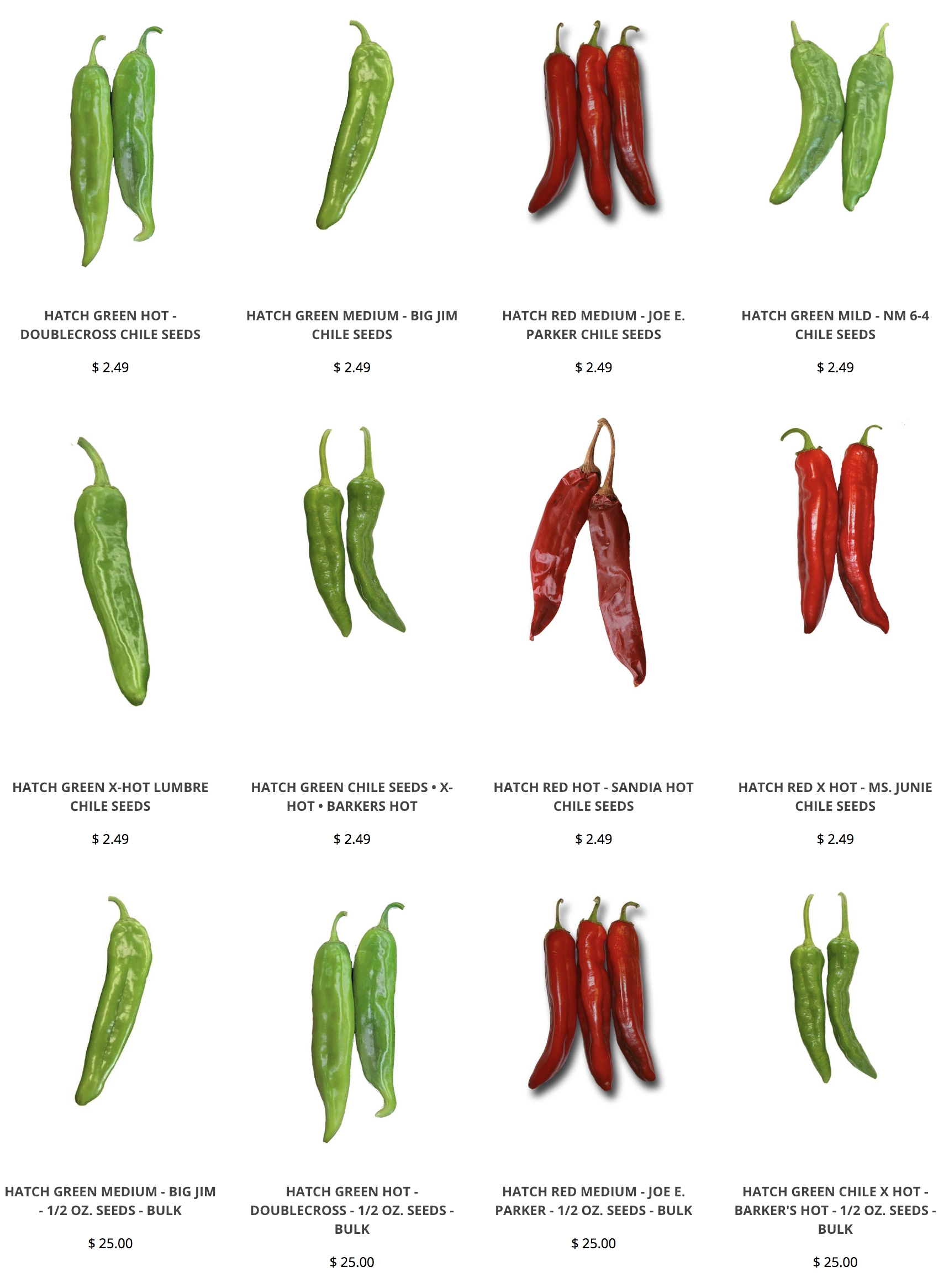 If You Want To Grow Your Own Hatch Chile Seeds Here We Have All