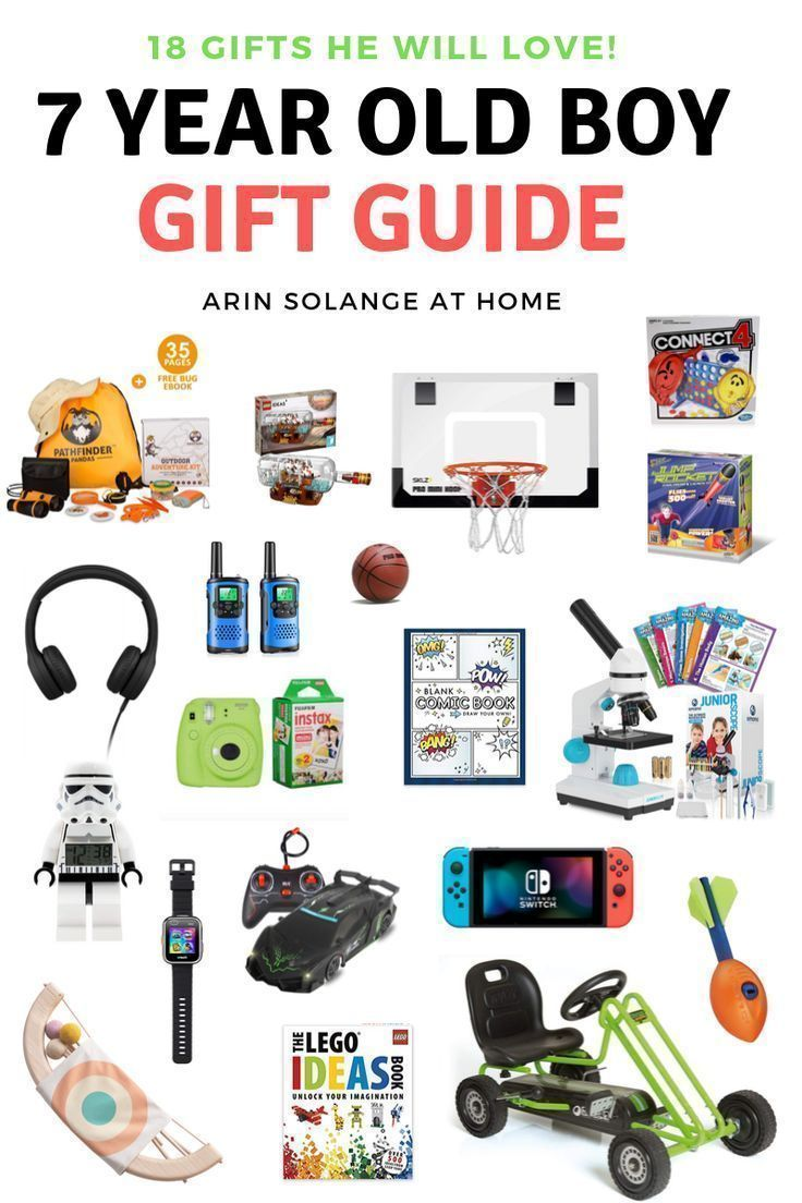 Best Gifts for 7 Year Old Boys | Christmas gifts for boys ...