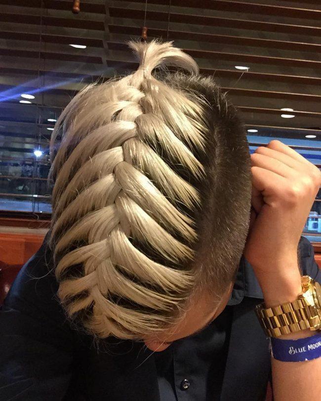 gewebter fischschwanz hair style pinterest frisur ideen frisuren und b rte und haare. Black Bedroom Furniture Sets. Home Design Ideas