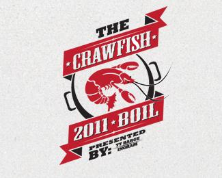 crawfish boil logo branding design www cprescott com crawfish rh pinterest com crawfish festival logo crawfish logo polo
