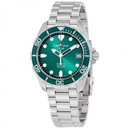 4b5ab6e4d6b Certina DS Action Green Dial Men s Watch C0324101109100. Relógios Com Preços  ...